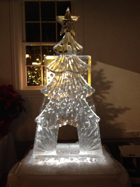 Christmas Tree Tube Luge