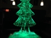 Christmas Tree with Green Light