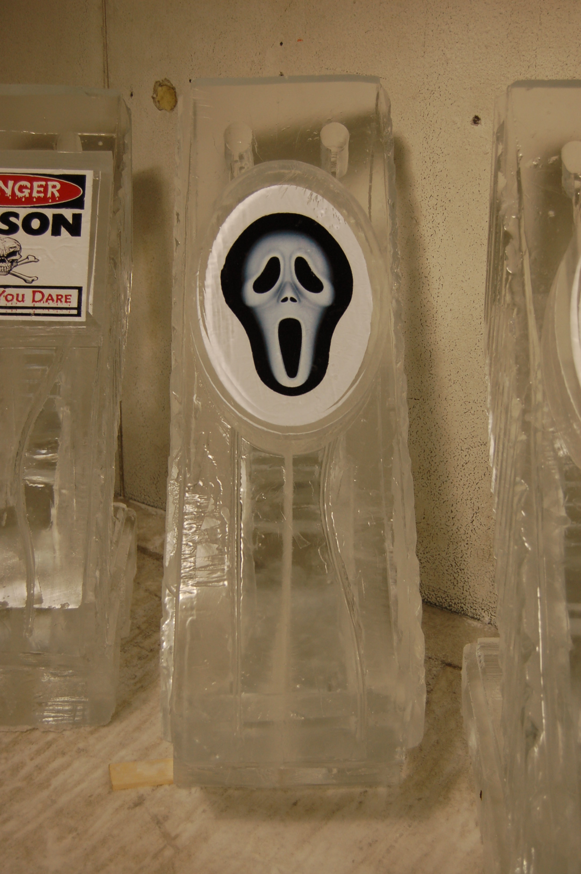 Scream Mask Luge