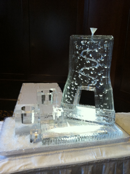 Candle and Bottle Holder Tube Luge