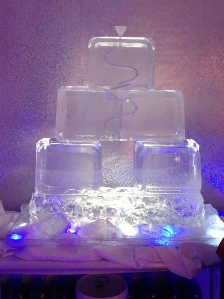 Ice Cube Pyramid Tube Luge