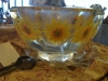 Flower Punch Bowl