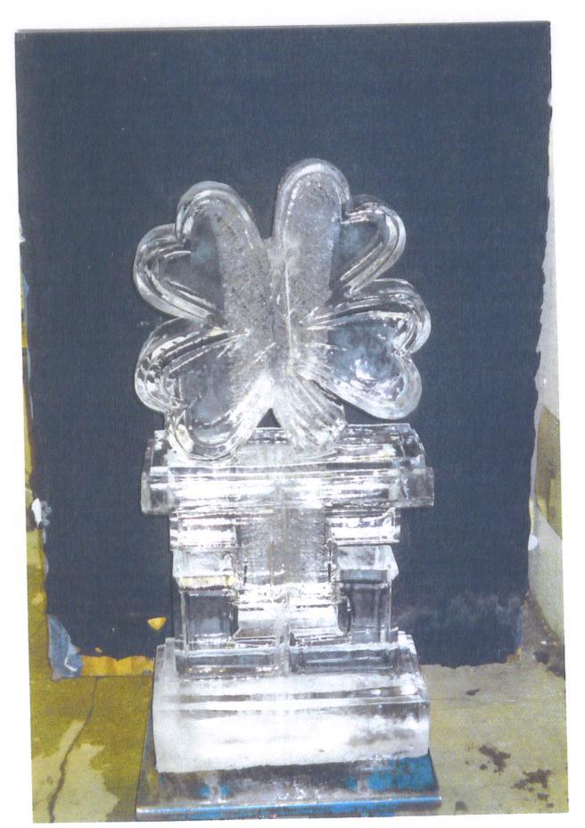 Ice Four Leaf Clover