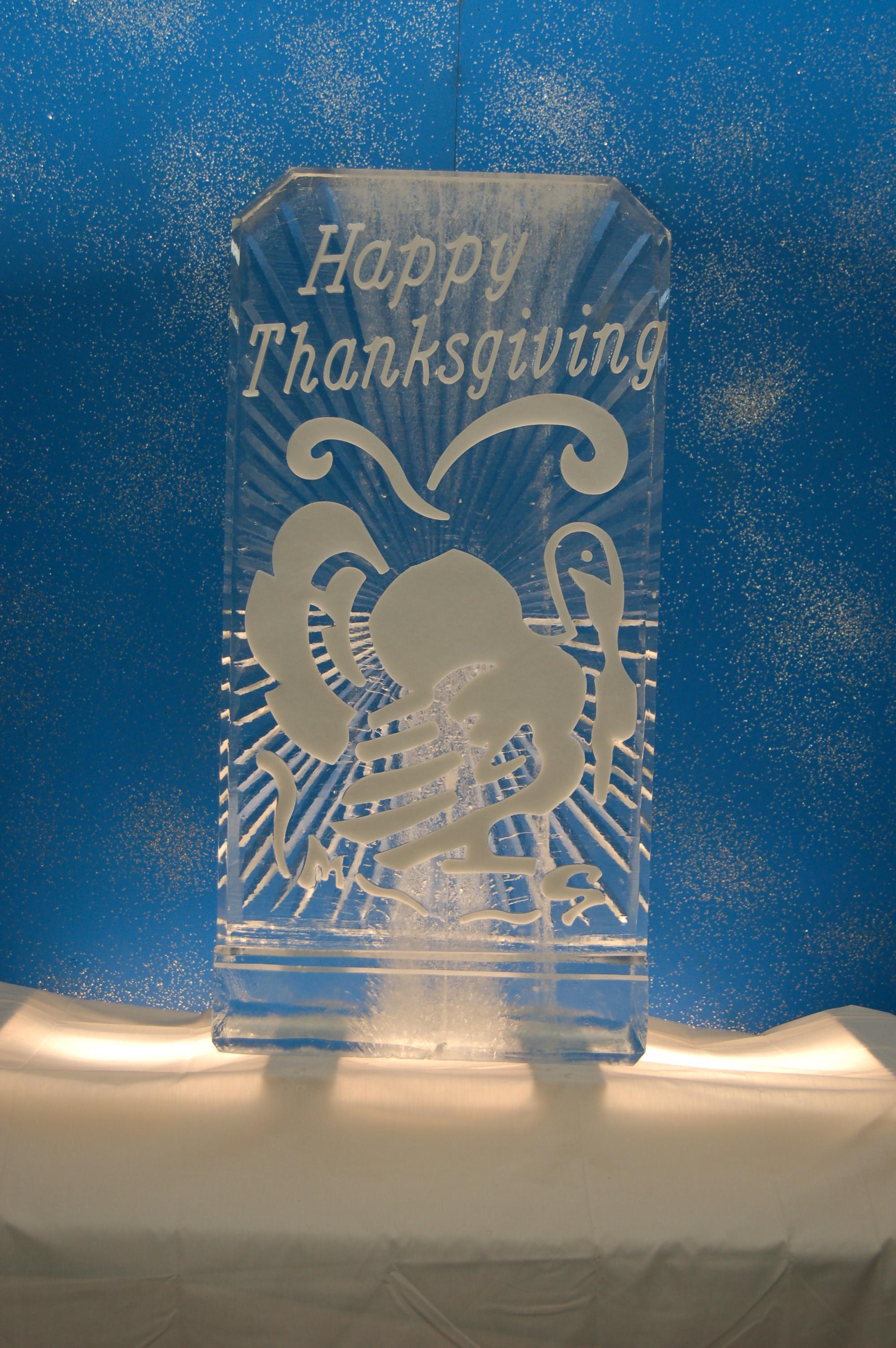 Thanksgiving Turkey in Snowfill