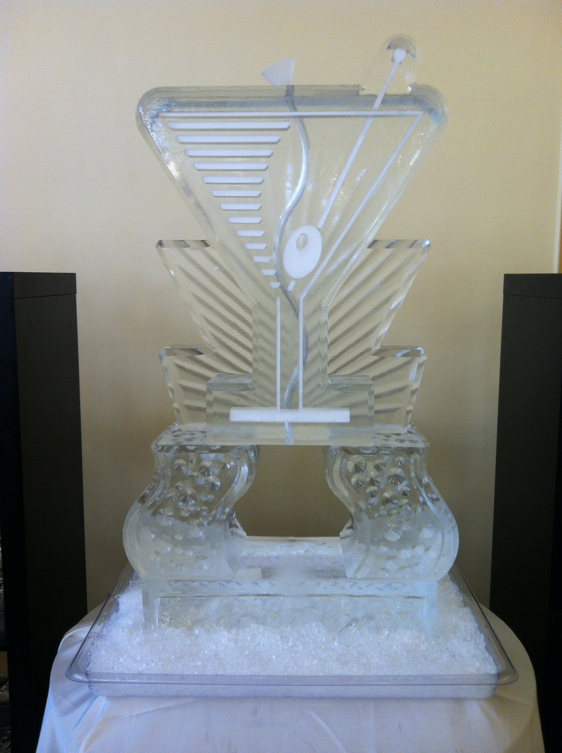 Martini Glass Tube Luge