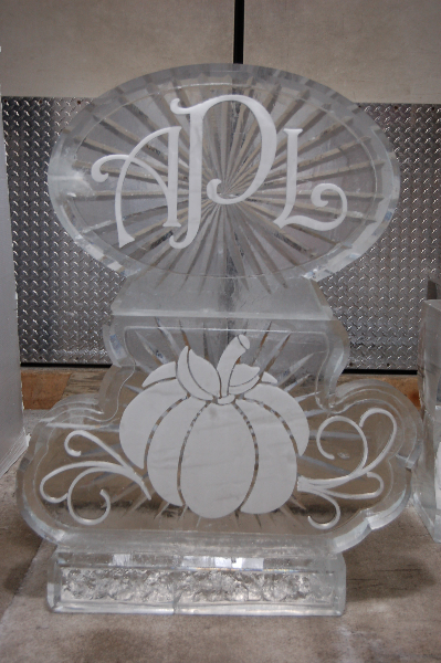 Monogram with Pumpkin