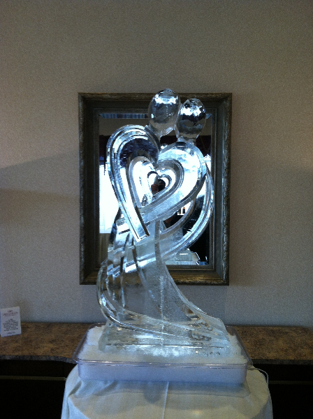 Abstract Wrap Heart Couple